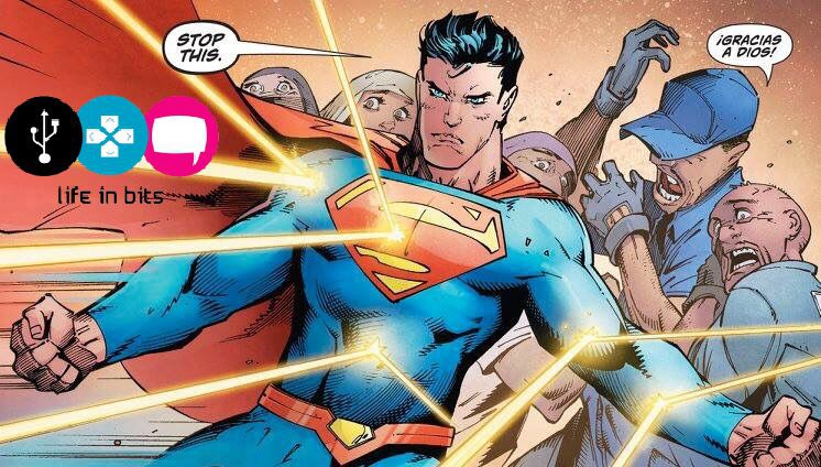 Superman el defensor de los inmigrantes