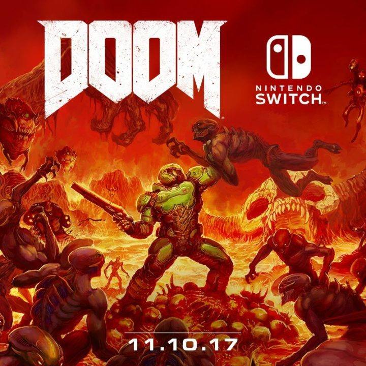 DOOM llega a Nintendo Switch