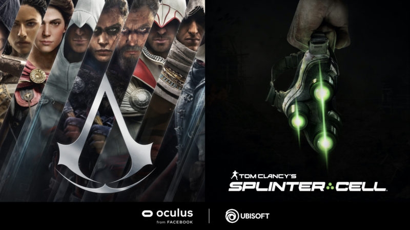 UBISOFT ANUNCIA JUEGOS VR DE ASSASSIN'S CREED Y TOM CLANCY'S SPLINTER CELL
