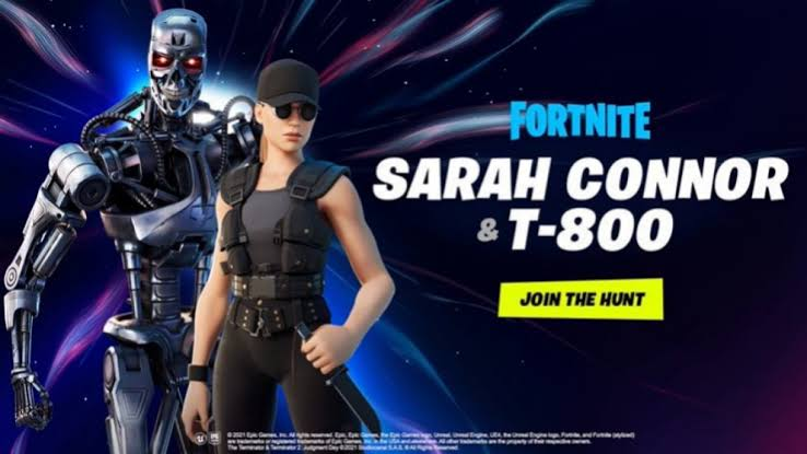 Sarah Connor y el T-800 llegan al Capítulo 2 Temporada 5 de Fortnite