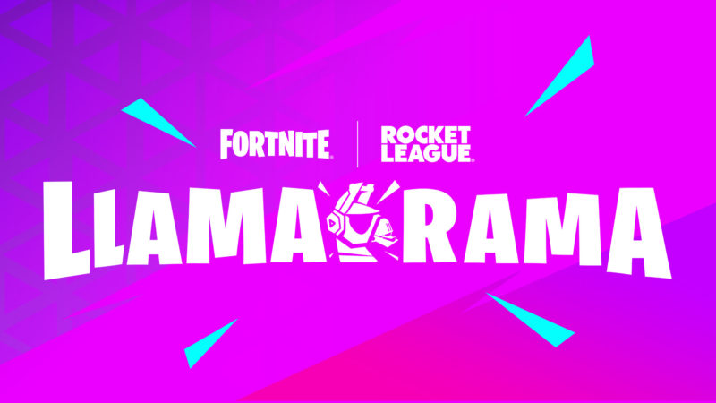 Rocket League y Fortnite anuncian Llama-Rama para celebrar la nueva Temporada de Rocket League