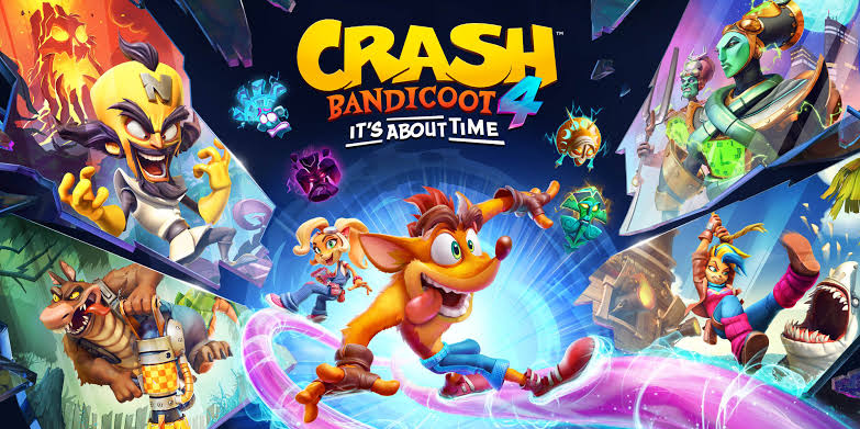 Crash Bandicoot 4: It's About Time – Disponible Ahora en Battle.net