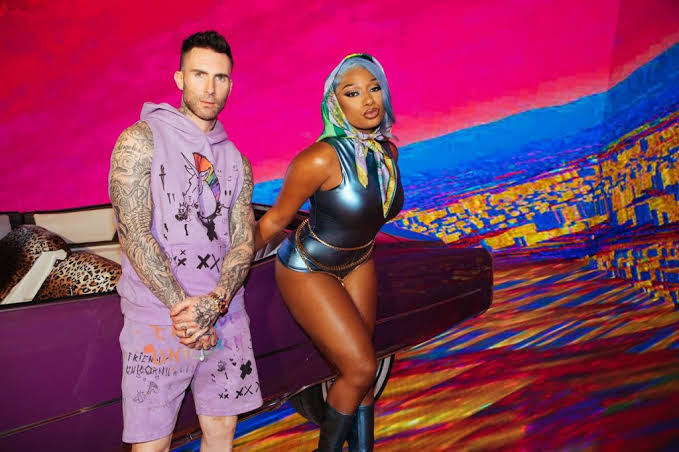"MAROON 5 ESTRENA ""BEAUTIFUL MISTAKES"" SU NUEVO SENCILLO CON MEGAN THEE STALLION"
